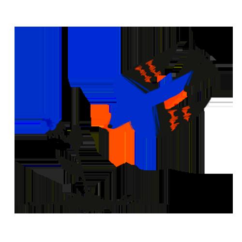 Illustration of a bird grabbing a fresh berry.